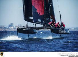 GC32 World Championship Lagos. © Sailing Energy/GC32 Racing Tour.27 June, 2019.