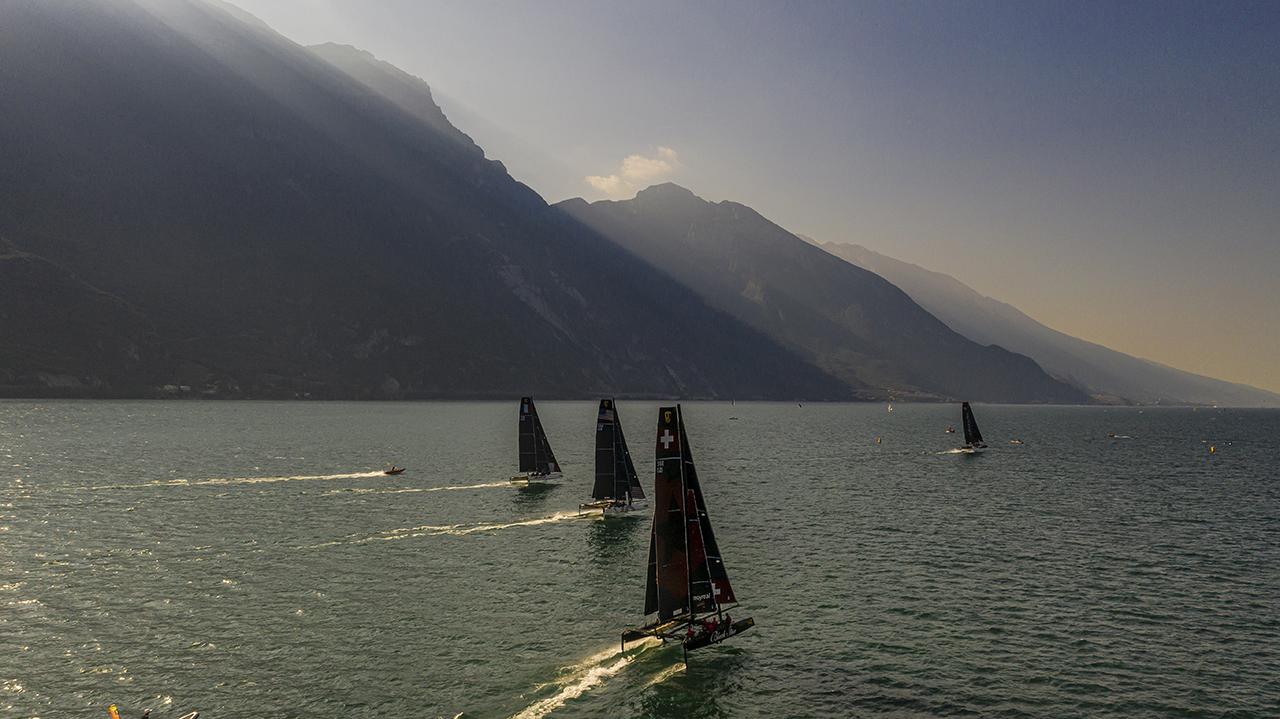 Bekannt für gute Windverhältnisse: Riva del Garda.