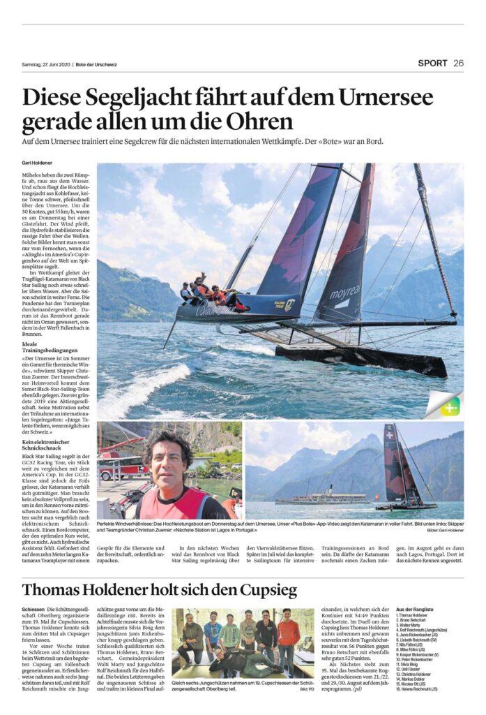 2020-06-27 Bote der Urschweiz