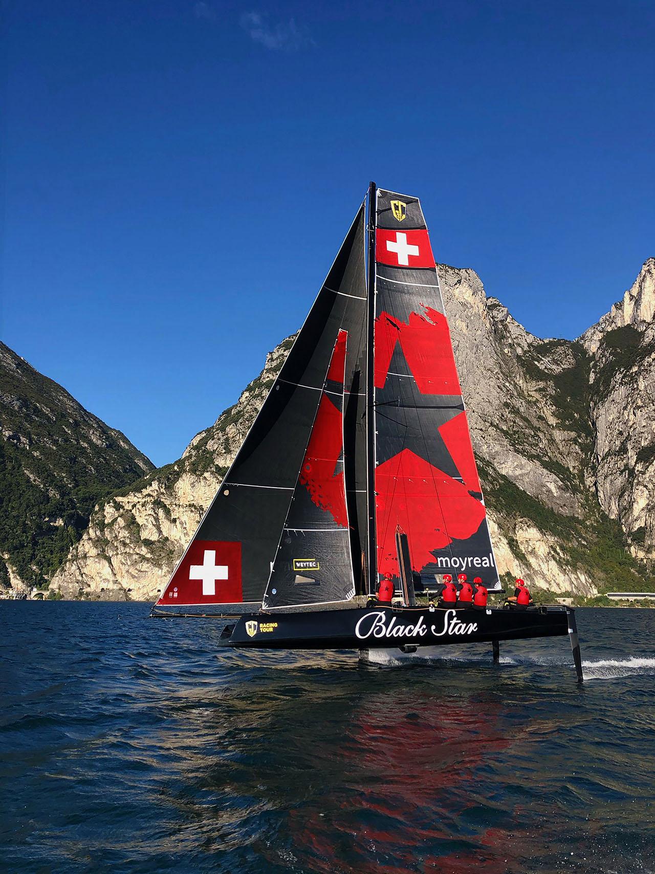 Black Star Sailing GC32 hydrofoil catamaran